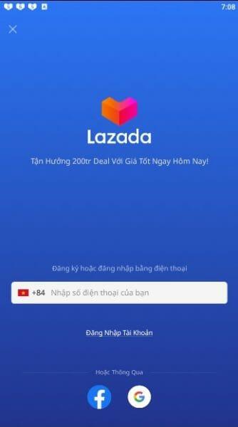 Hướng dẫn các bước mua hàng trên Lazada App