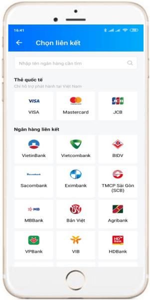 Hướng dẫn liên kết ngân hàng với ZaloPay