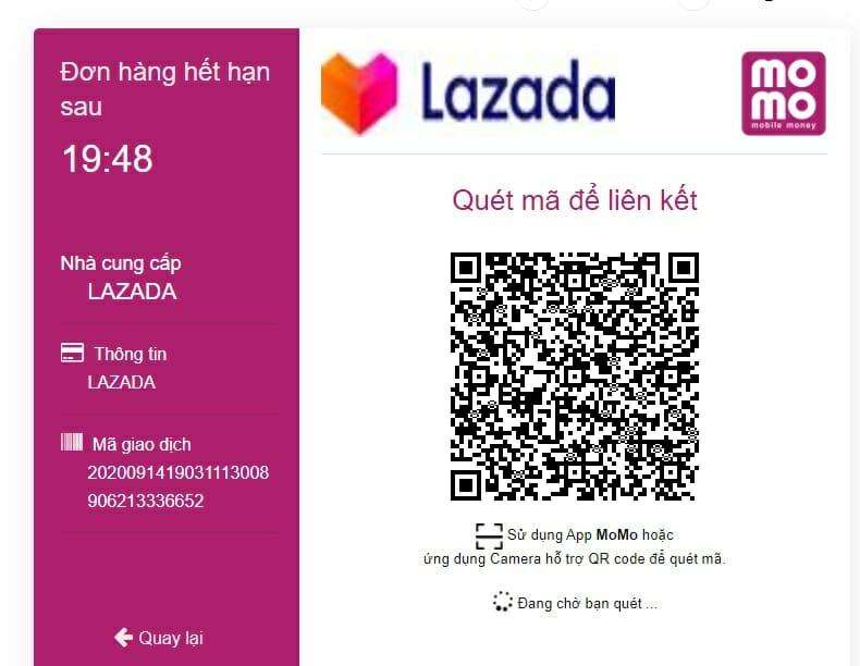Nạp điện thoại trên Lazada