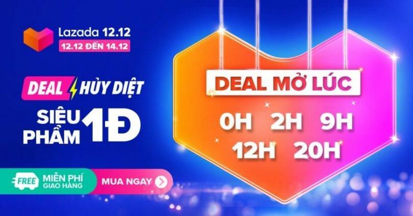 Deal Hủy Diệt Lazada 12.12
