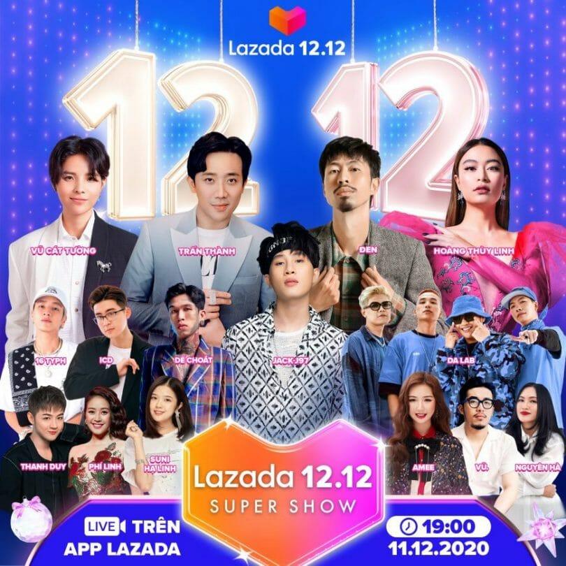 Lazada 12.12 Super Show